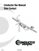 Manual - Conductor Bar, Side Contact